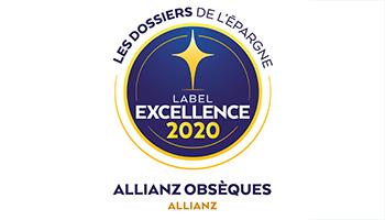 Label d'Excellence 2020 Obsèques de l'agence  Allianz Rodez - Lucas & Marion DE LAPANOUSE