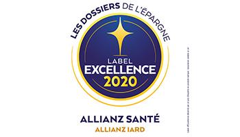 Label d'Excellence 2020 Santé de l'agence  Allianz Metz st livier - Patrick BOURGIER