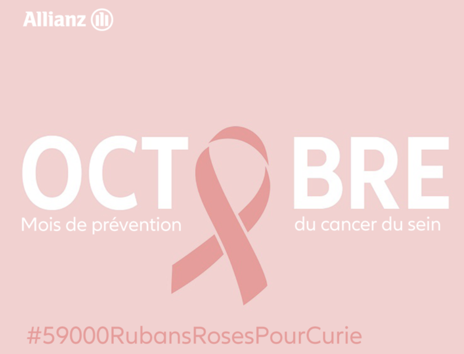 Octobre Rose de l'agence  Allianz Crolles - Gregoire SARAGOUSSI