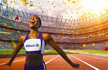Allianz 1ère marque mondiale d'assurance de l'agence  Allianz Berre l'etang - Celine MICHELI